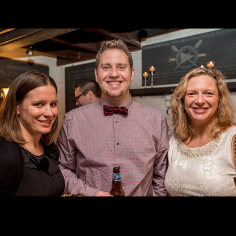 ELC's 35th Anniversary Party Gwen, Matt, and Janet
