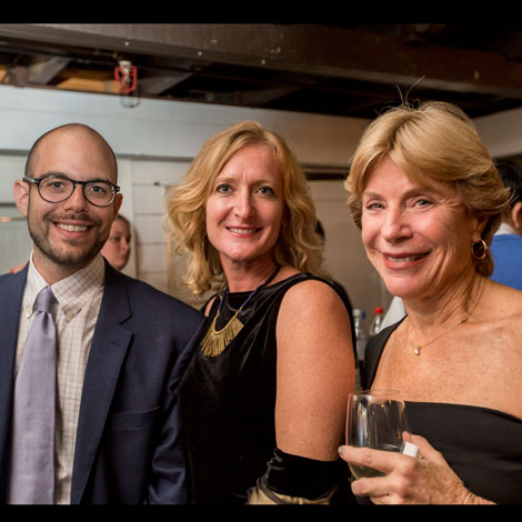 ELC's 35th Anniversary Party Alex, Laurie, and Ellyn