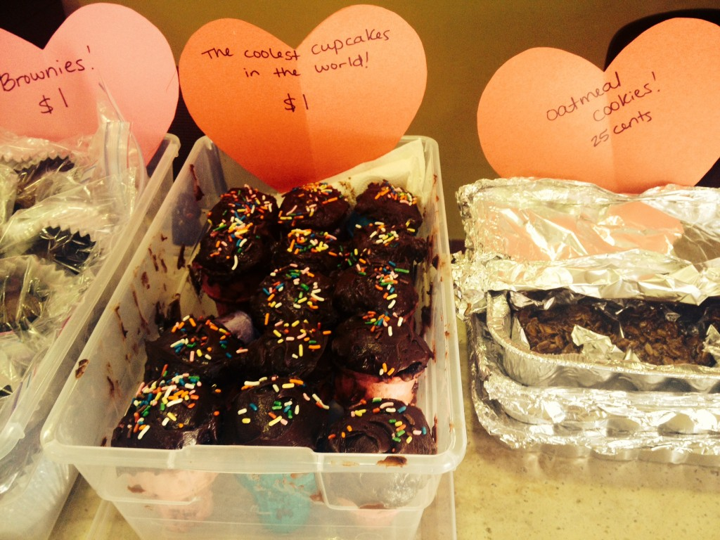 Valentines Day bake sale 3
