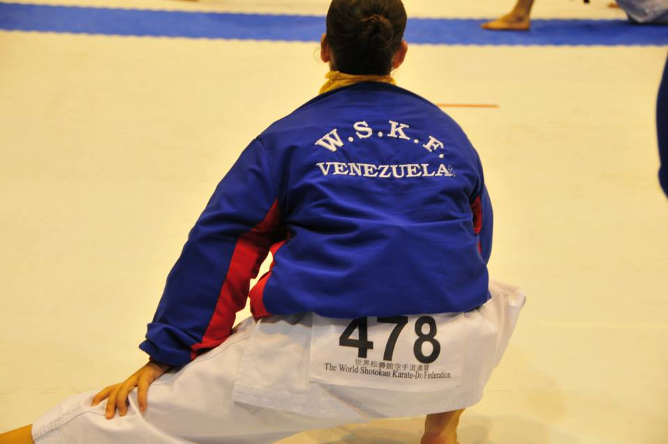 Estefania Tremul Cartusciell during Olympics
