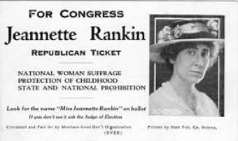 Jeanette Rankin - Boston blog