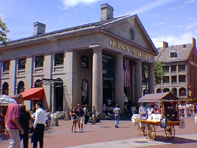 Lunch options in Boston - Quincy Market