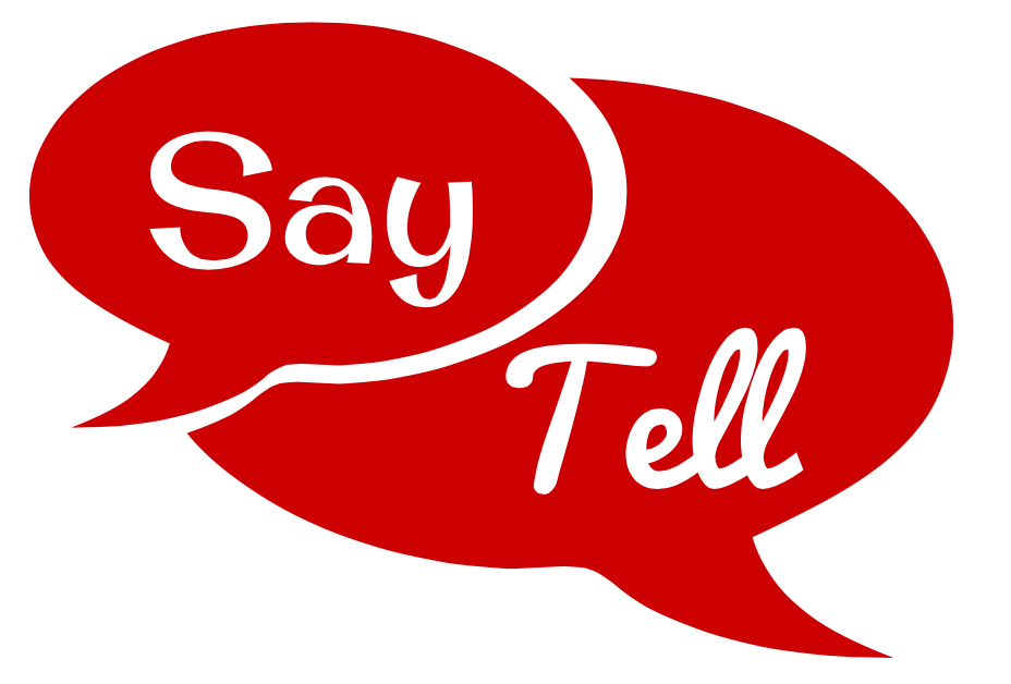 say vs tell reported speech
