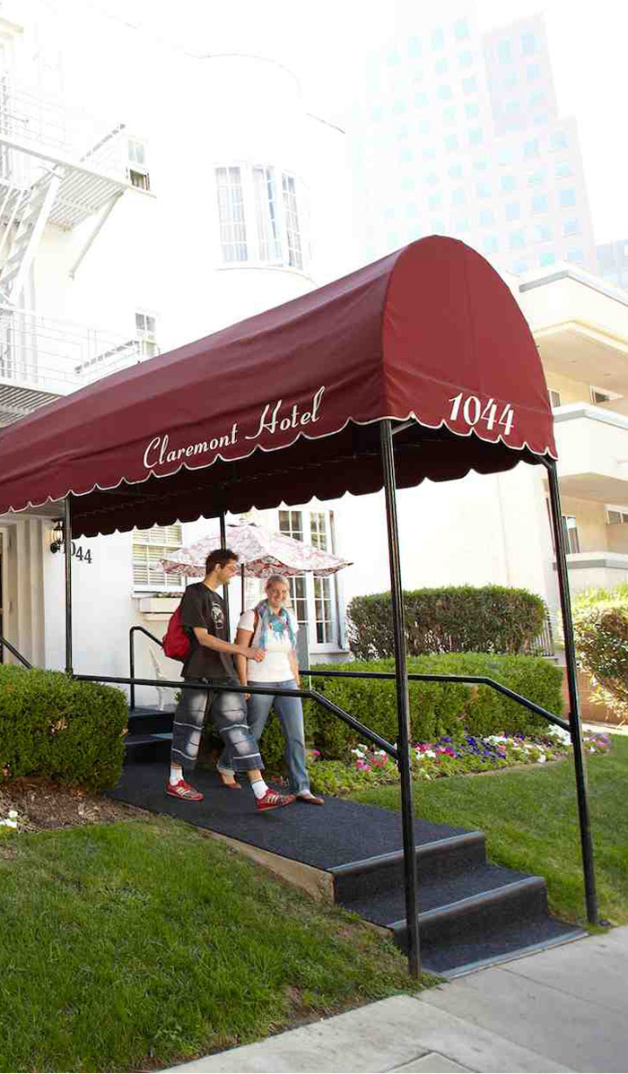 ELC Los Angeles Accommodation Claremont Hotel Overview