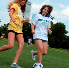 Summer Junior Program Wheelock College Sports Fields Overview