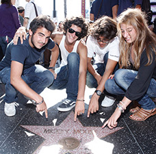 ELC UCLA Campus Summer Junior Program Hollywood Walk of Fame 3