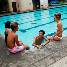 ELC UCLA Campus Summer Junior Program Pool