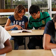 ELC UCSB Campus Summer Junior Program Classroom