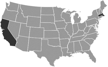 ELC USA Locations Map