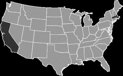 ELC USA Locations Map